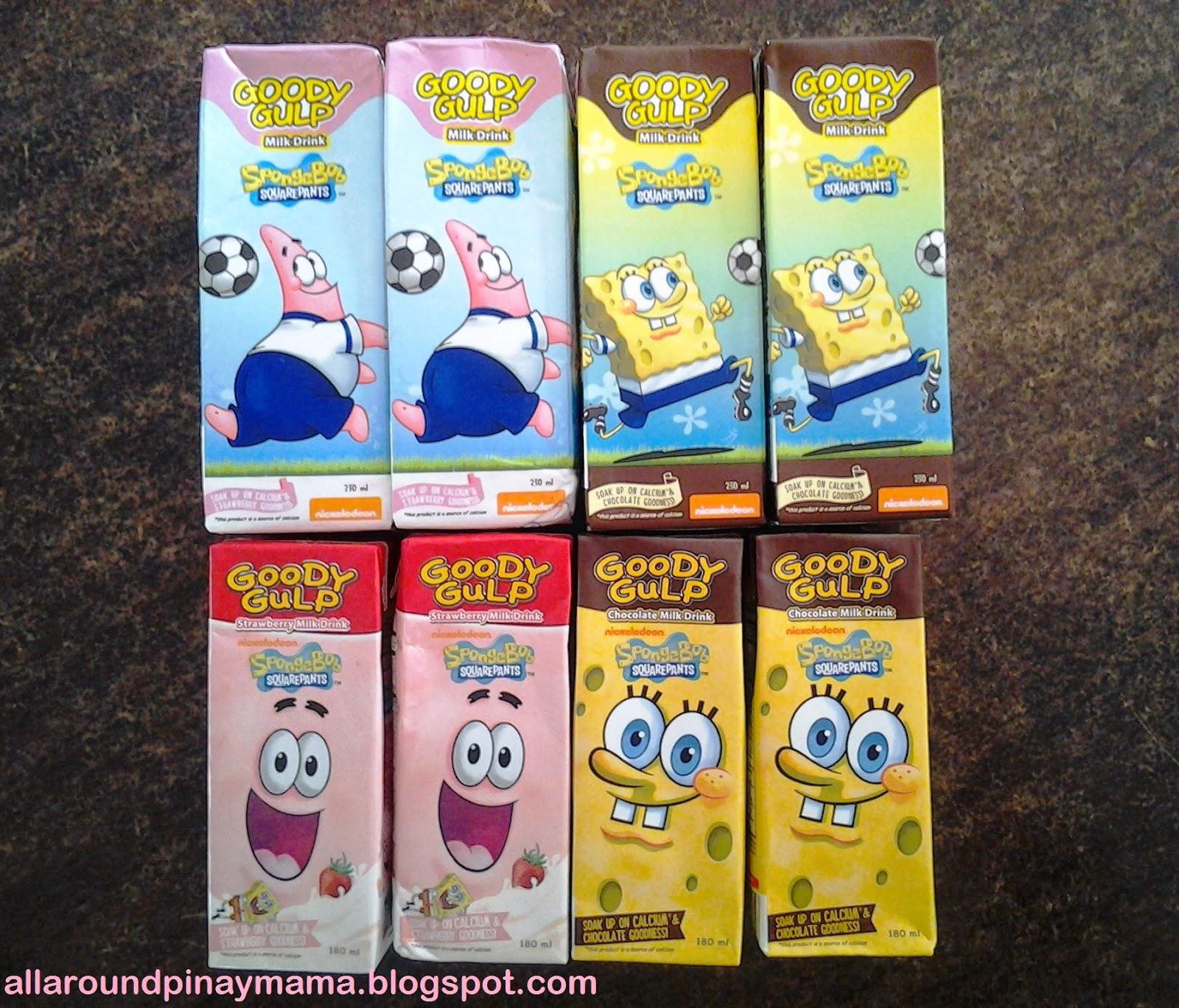 All-Around Pinay Mama: SpongeBob Goody Gulp Chocolate and ...