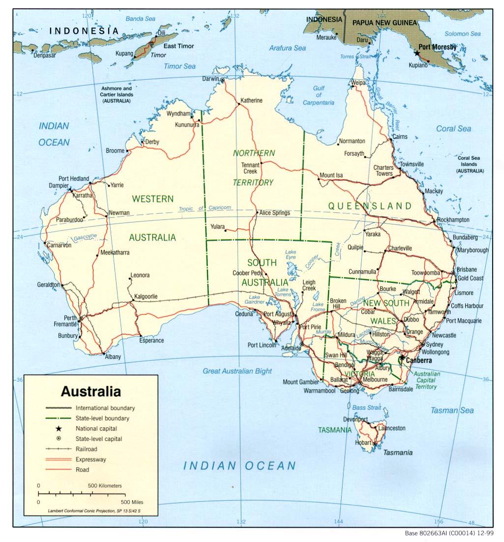 Australië heet officieel het gemenebest australië. het land in het