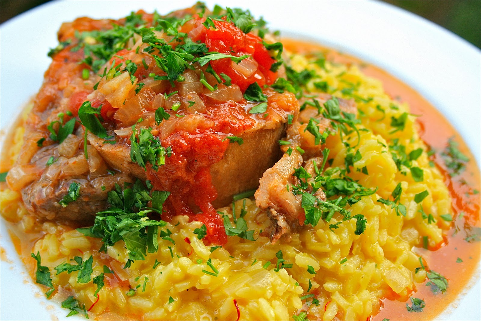 Johnny's Kitchen: Osso Bucco with Risotto alla Milanese