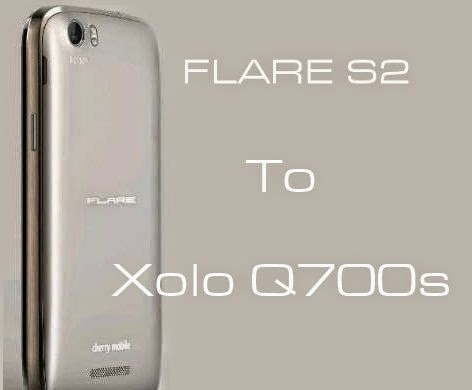 flare s2 to xolo q700s