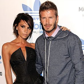David Beckham Victoria Beckham peoples