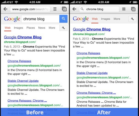 download Chrome stable for IOS
