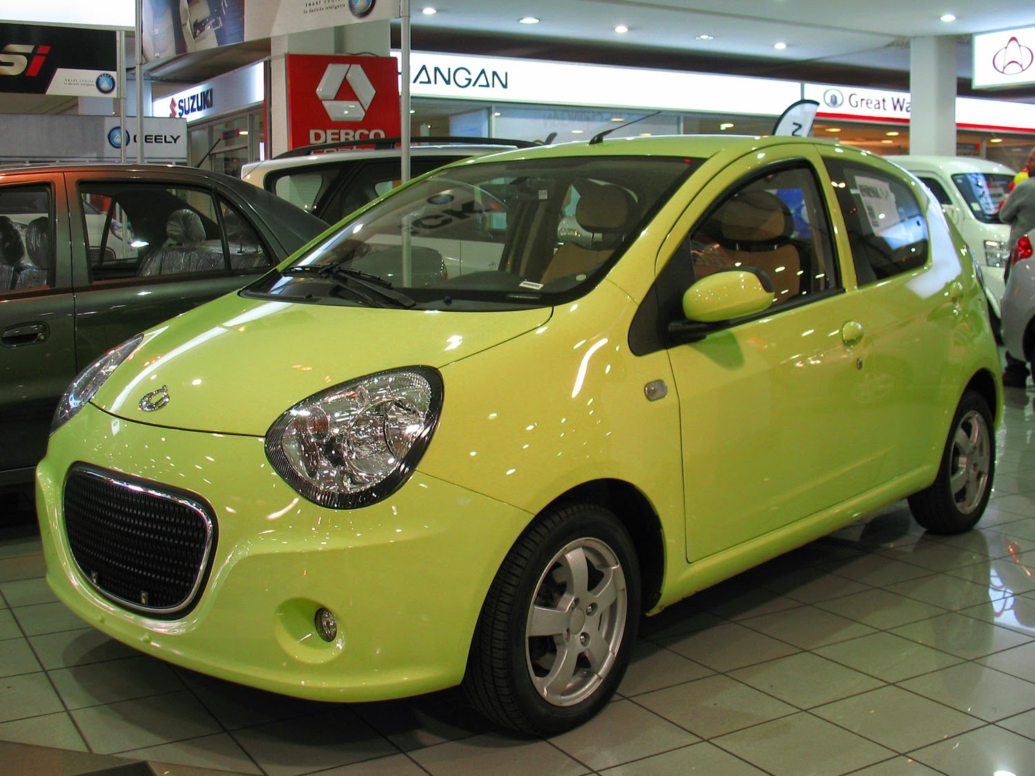 The Geely LC (sold as the Geely Panda in China)