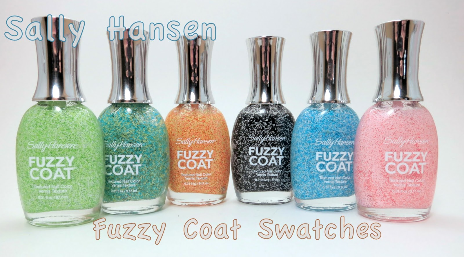 Oh Three Oh Four: Sally Hansen Fuzzy Coat Swatches