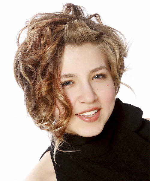 casual updo medium curly hairstyles casual updo medium curly ...