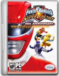 Power Rangers Super Legends Gratis Full Version cover