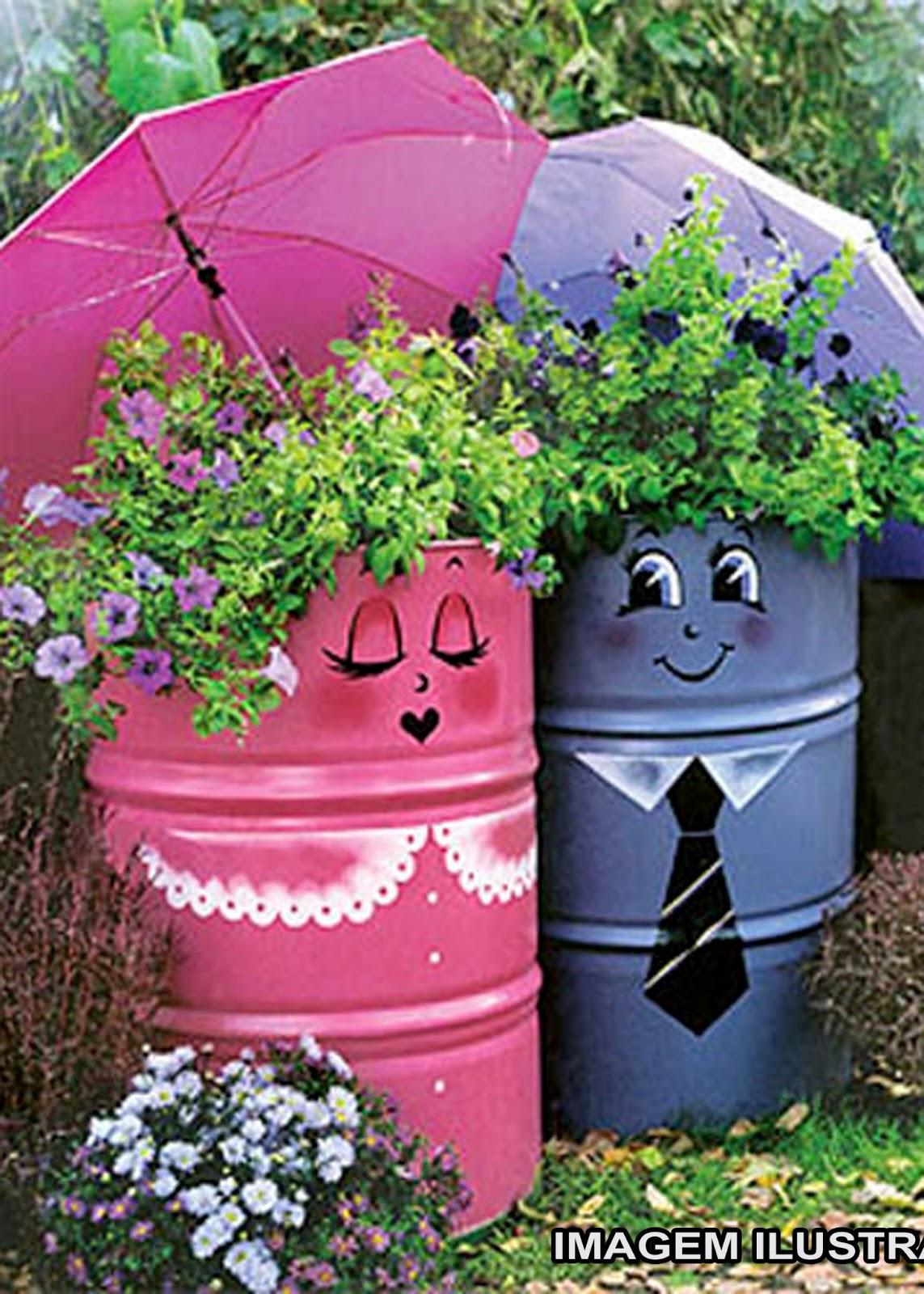 Идеи украшение сада своими руками