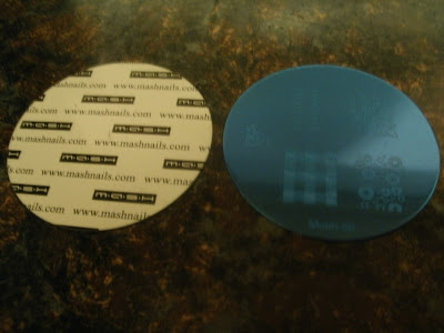mash image plates nail stamping