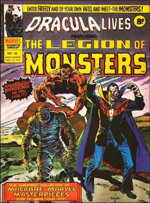 Marvel UK, Dracula Lives, Legion of Monsters #60