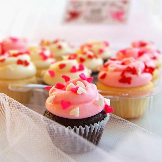 Cupcake como si fueran de Magnolia