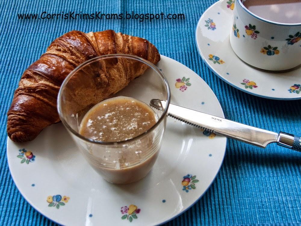 Brotaufstrich, karamell, toffee, frühstück