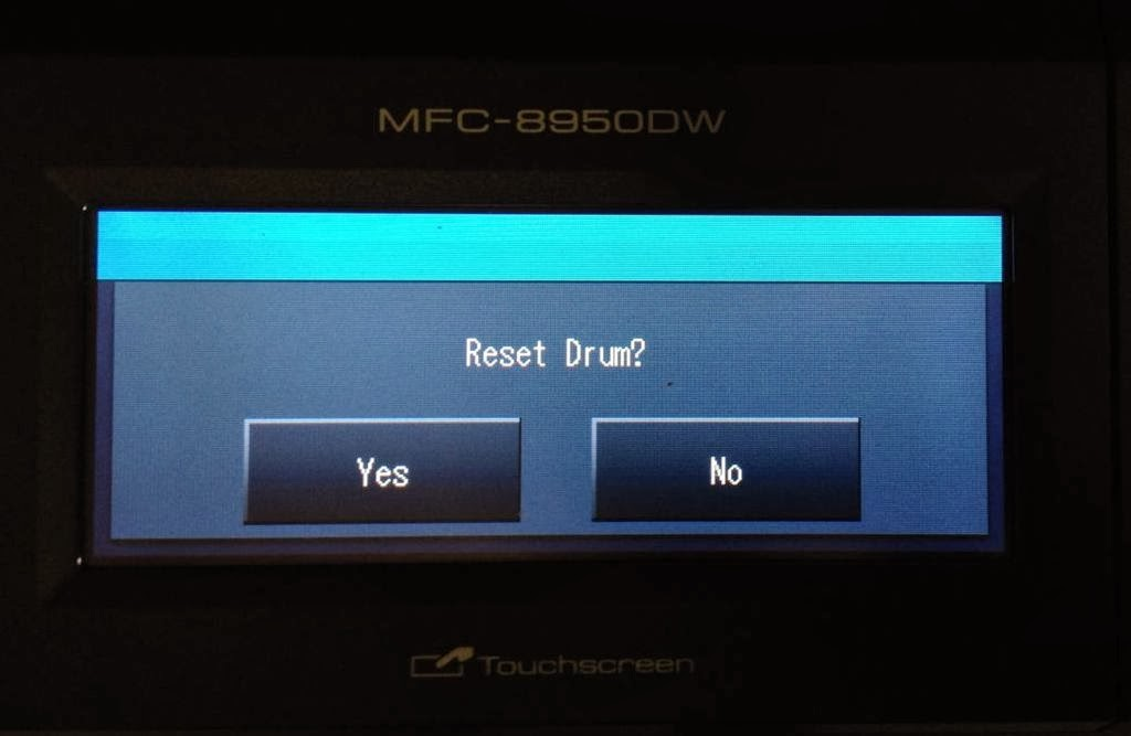 How To Fix Error Replace Parts Drum Unit Reset The Dr720