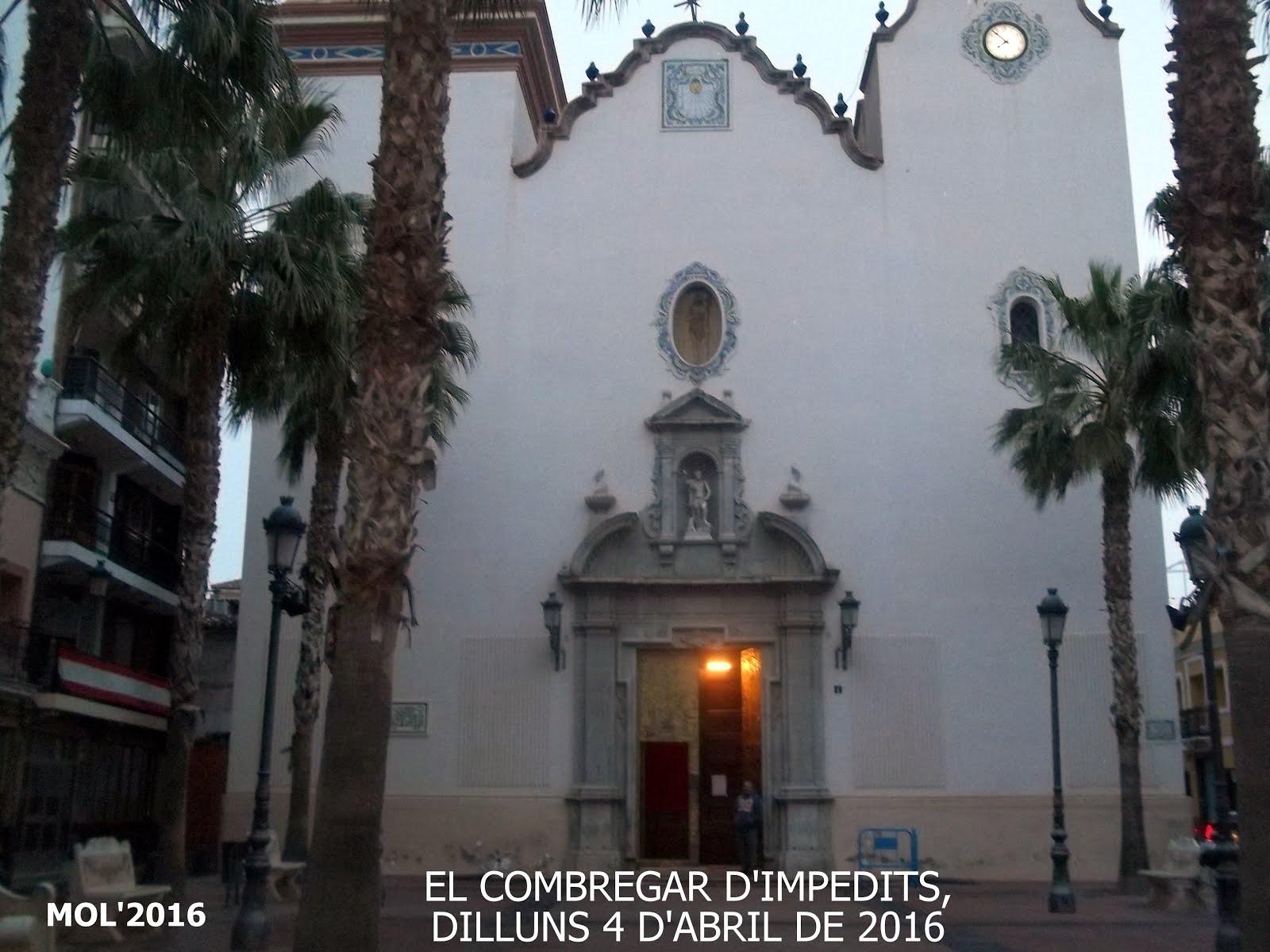 04.04.16 FIESTA A SAN VICEN- TE FERRER, EL COMBREGAR D'IMPEDITS EN MANISES.