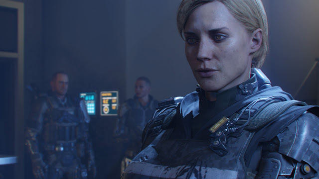 Call of Duty: Black Ops III sarah hall taylor campaign story