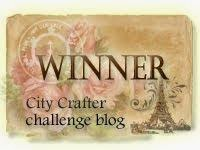 Winner City Crafter Challenge blog