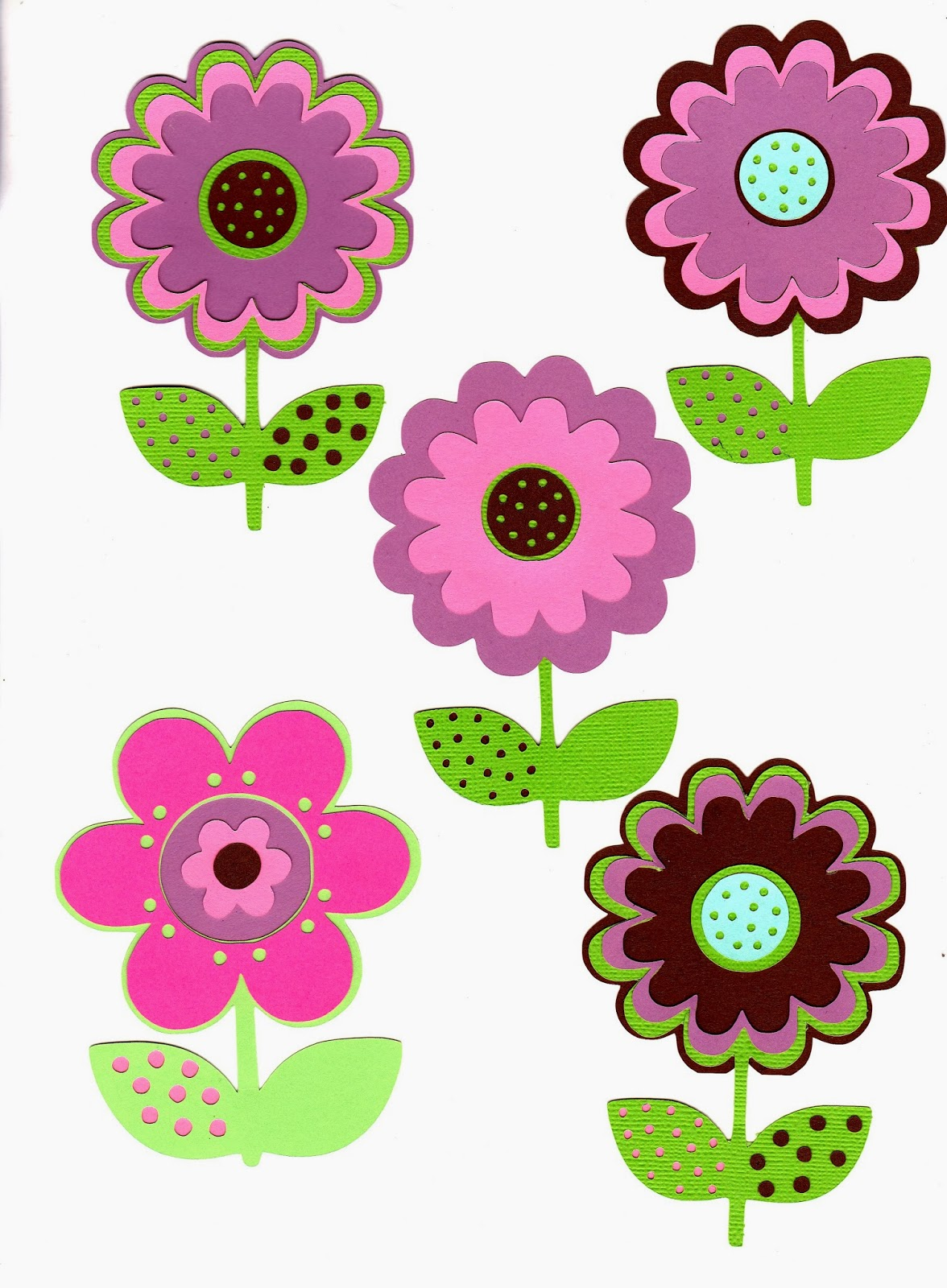 Flower Cut Outs Printables