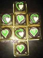 Coklat cookies - love