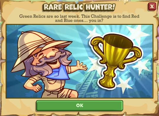 relic how to know which is rarer