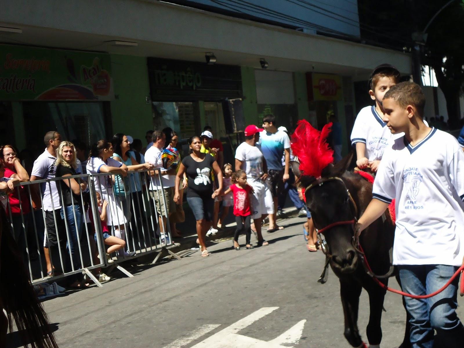 07 de setembro na cidade de Tres Rios
