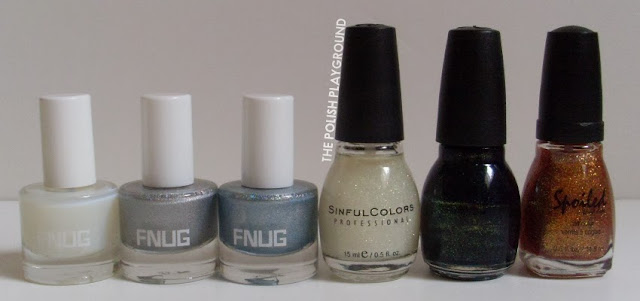 FNUG, Sinful Colors, Spoiled by Wet n' Wild