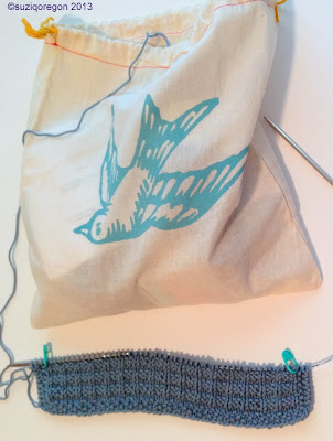 Pretty Cheep Project Bag