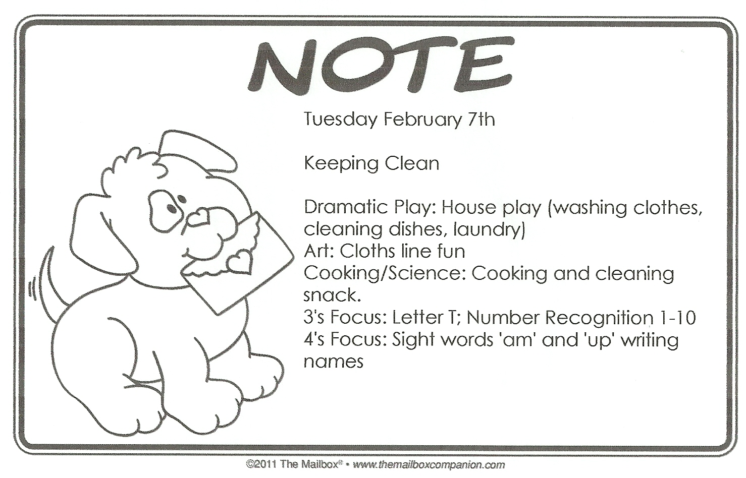 Discovery Days Preschool: February Lesson Plans
