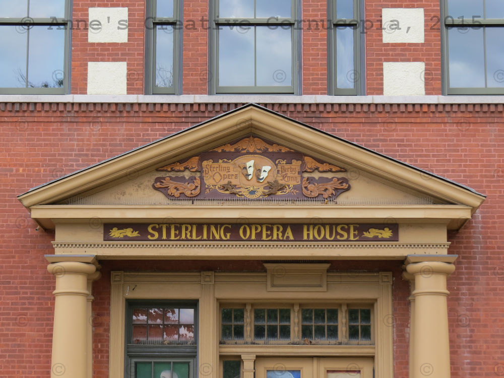 Anne 39 s creative cornucopia sterling opera house photograph for Sterling house