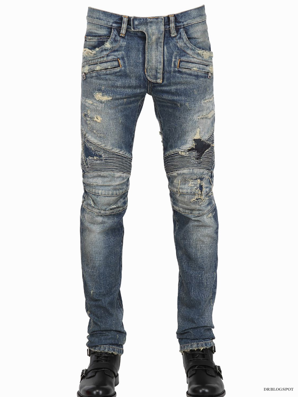 Mens denim motorcycle vests in conceal carry, side lace, SOA, and black or blue jean denim styles on a mens denim biker vest at Blaze Leather.