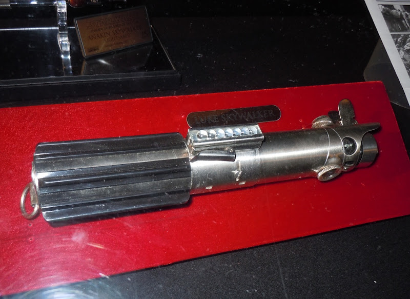 Luke Skywalker lightsaber Star Wars prop
