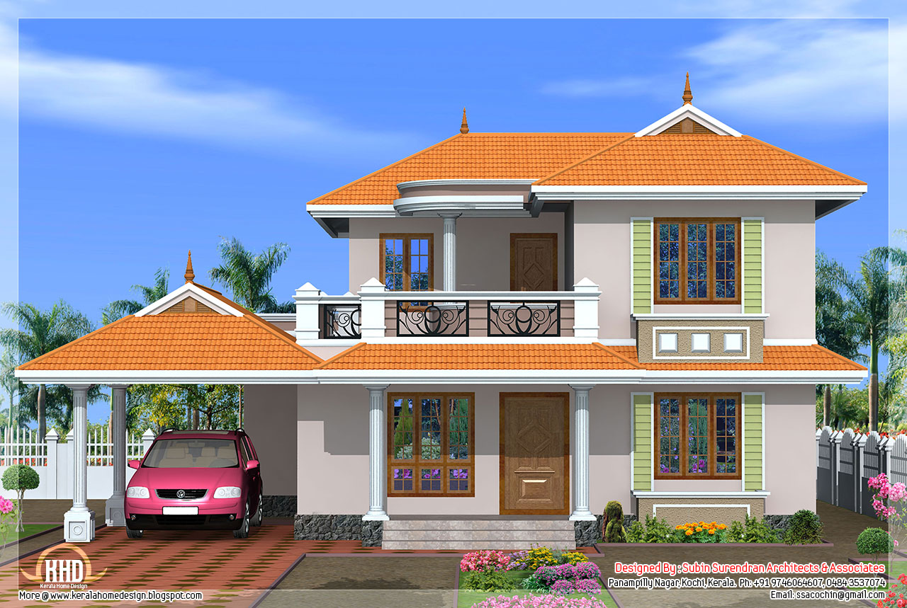 4 Bedroom Kerala Model House Design Home Sweet Home