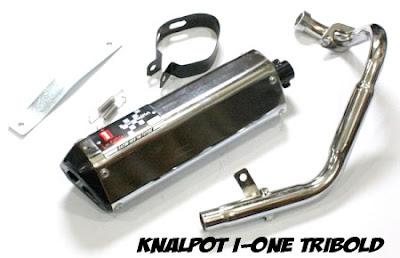Knalpot untuk yamaha vixion tribold