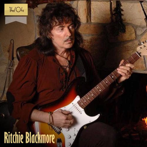 14 de abril | Ritchie Blackmore - @NFBNTweets | Info + vídeos
