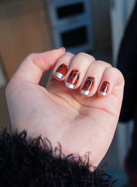 lolly's nail paints orange chrome