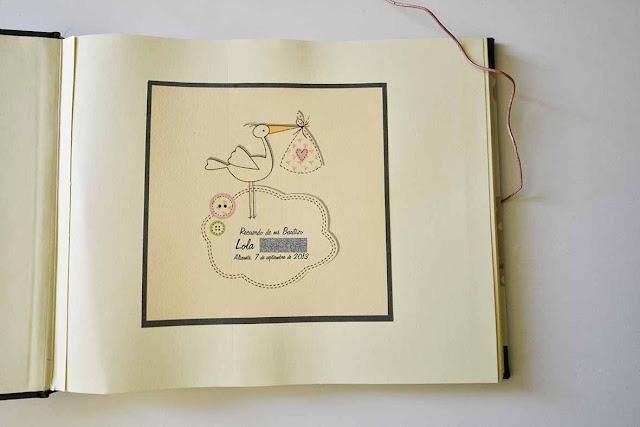 album fotos bautizo suitbook, bookbinding, encuadernacion, handmade