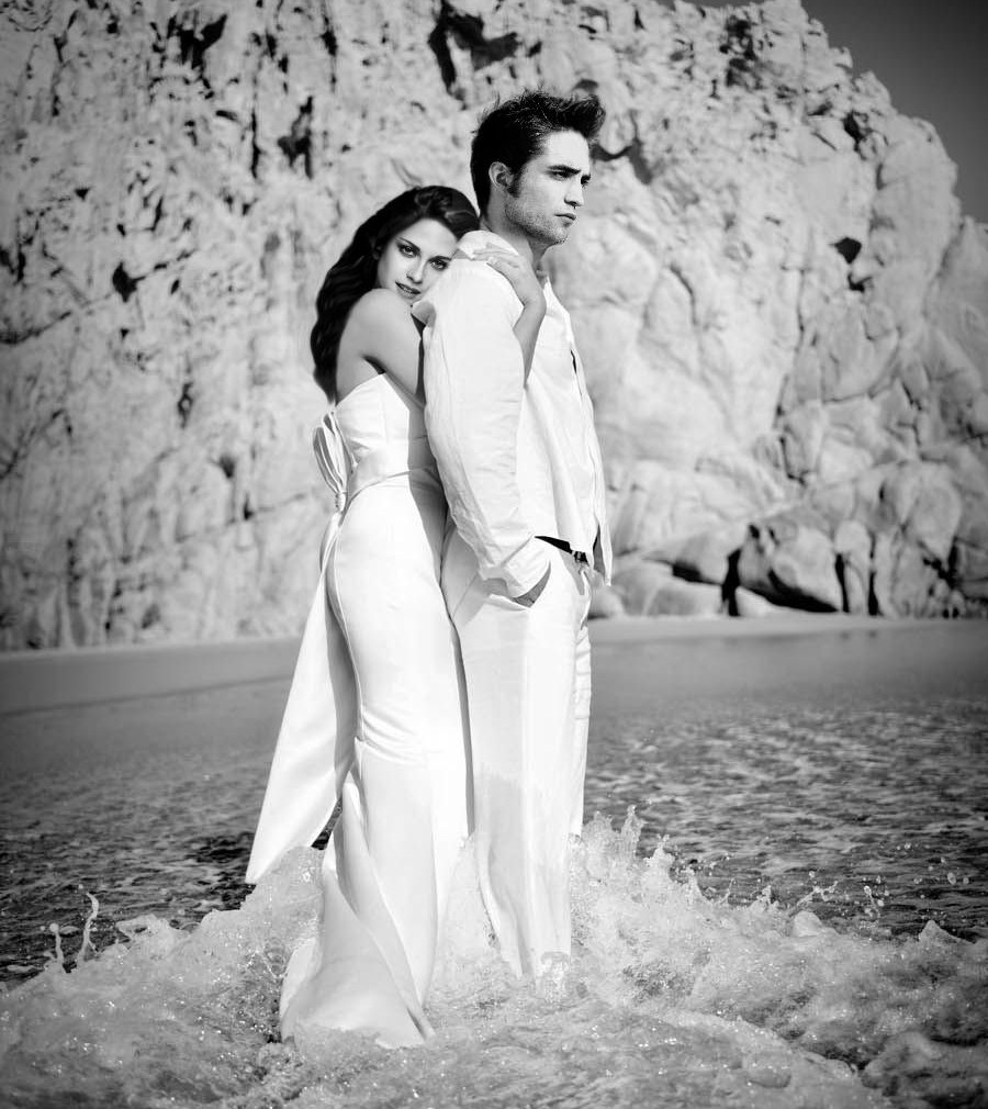 Elegant Wedding Dress From Edward Cullen And Bella Swan Top New