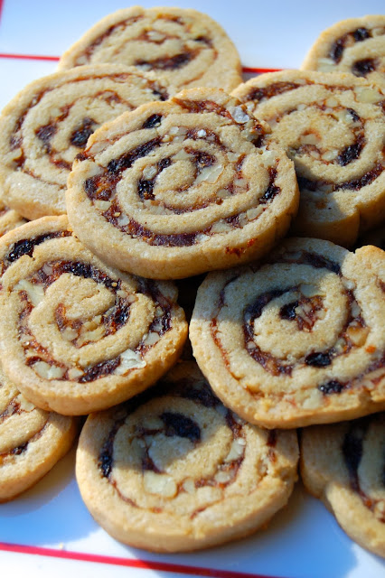 Betty's Date Pinwheels - Food Blogger Cookie Swap