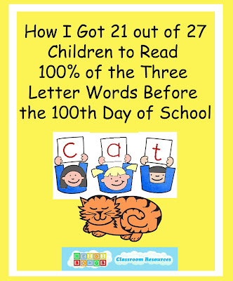 How i got 21 out of 27 kids to master 100 of their cvc words in in this post i am going to tell you how i got 21 of my 27 kindergarten students to master 100 of their consonant vowel consonant words expocarfo Choice Image