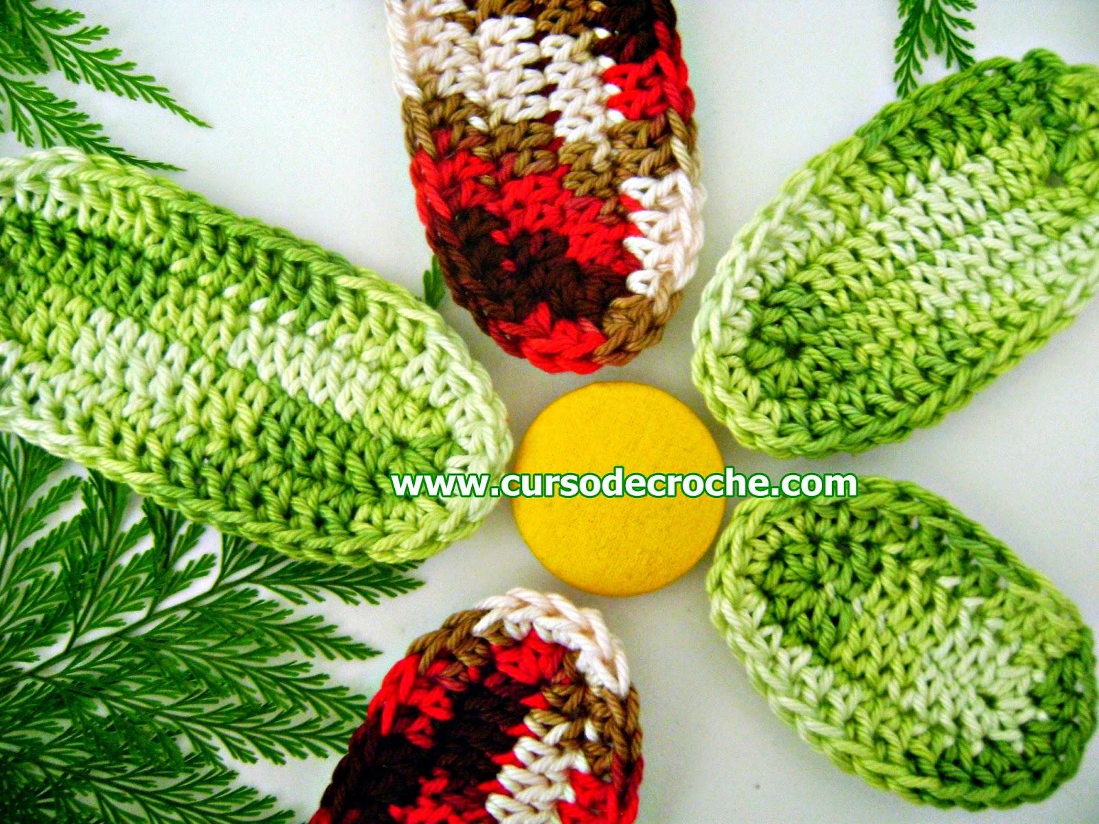 dvd folhas e flores em croche com Edinir-Croche na loja curso de croche com frete gratis