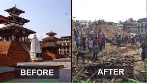 Foto gempa di nepal 11