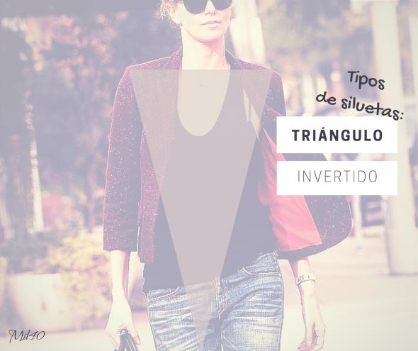 silueta triangulo invertido looks consejos