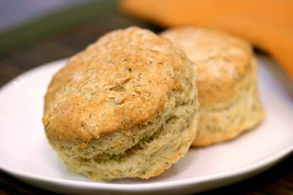 Sour Cream Dill Biscuits Recipe | In The Kitchen With Honeyville