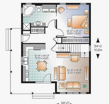 Planos de casas planos de casas econ micas for Planos de casas economicas
