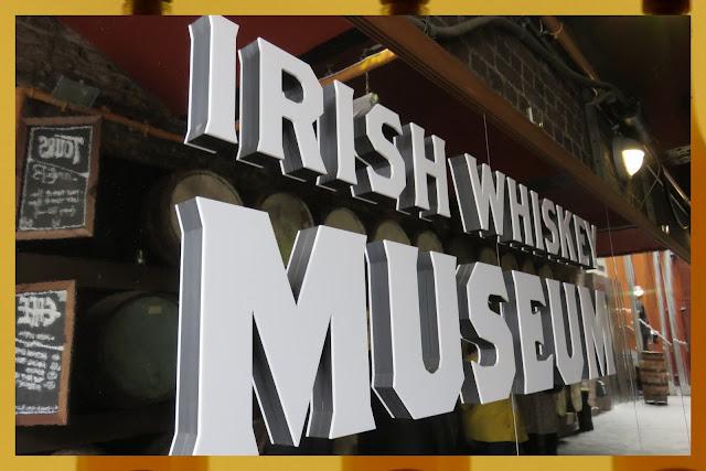 The Irish Whiskey Museum in Dublin