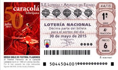 Lotería sábado 30 de mayo de 2015