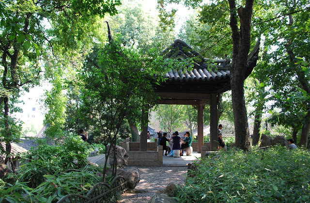 The Canglang Pavilion in Suzhou