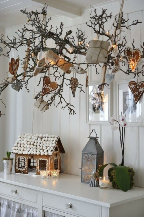 Home 1144: Scandinavian Christmas Decoration