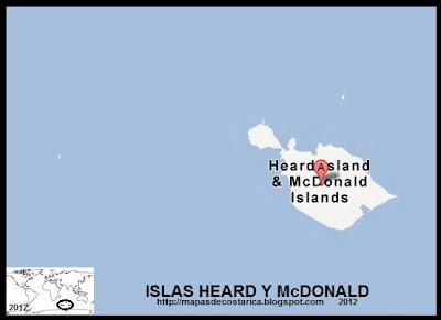ISLAS HEARD Y McDONALD, Mapa de ISLAS HEARD Y McDONALD, Google Maps