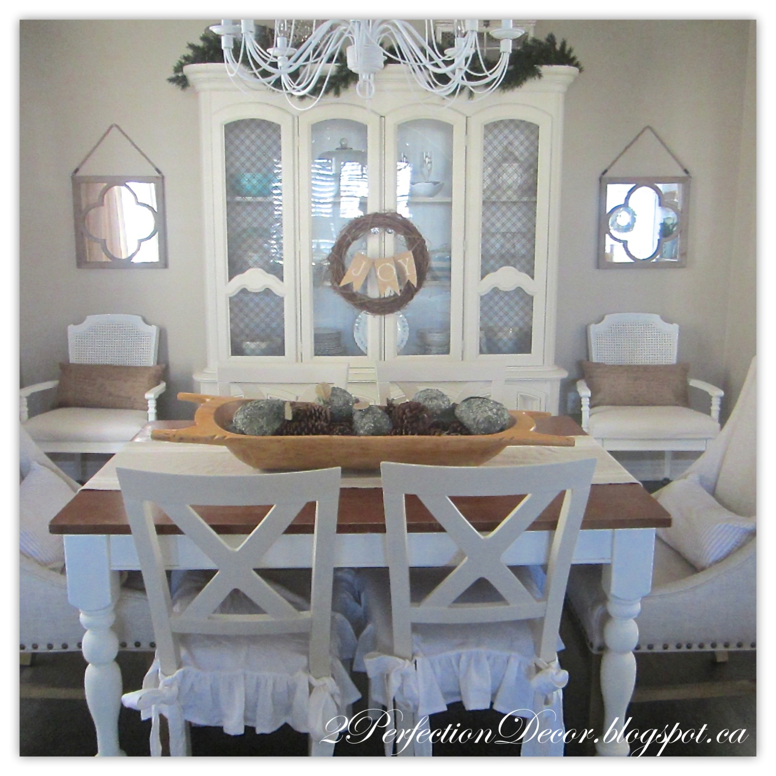 2perfection decor our holiday kitchen dining room