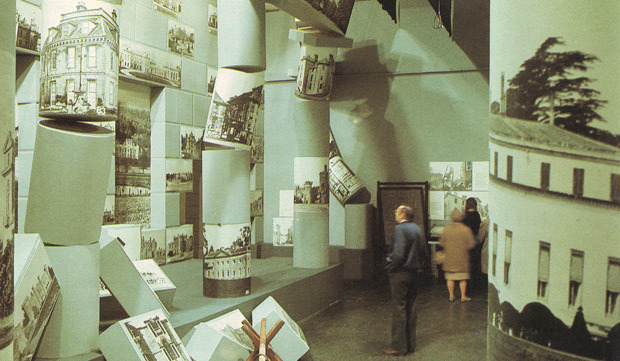 Hall Of Lost Houses From The U201cDestruction Of The Country Houseu201d Exhibition,  1974.