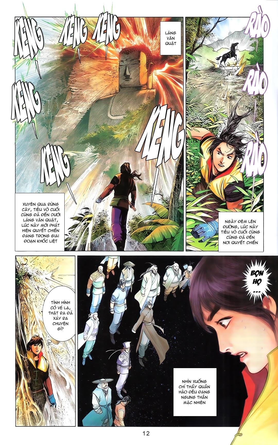 Phong Vân chap 668A Trang 10 - Mangak.info
